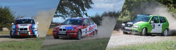 MSG-Teams bei der Ostsee Rallye
